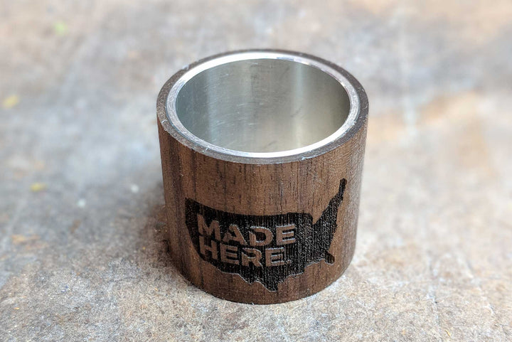MADE HERE. Walnut Headset Spacers