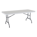 "Rectangular Table 6' x 30""  Seats 6 comfortably"