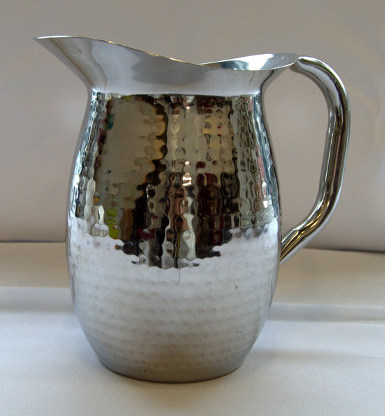 Dimpled Water Pitcher