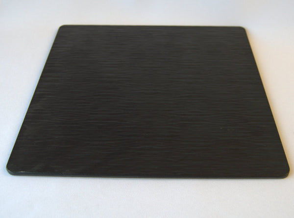 "Black  slate tile 10.5"" Placemat"