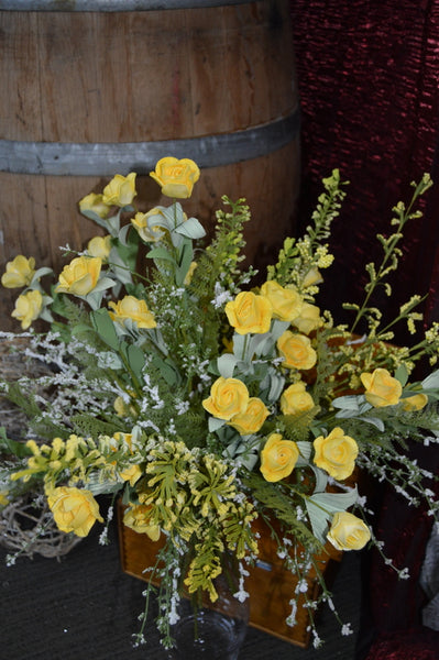 Yellow Mini Roses