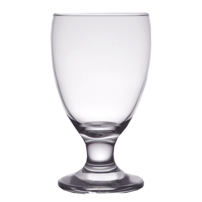Footed water Goblet 11 oz Rented in multiples of 5