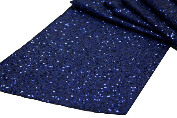 Navy  Glitz sequin  Runner