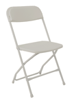 Grey Folding Chair
