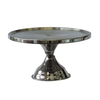 Pedestal Tray Stainless 12""