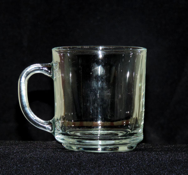 Plain Glass Mug
