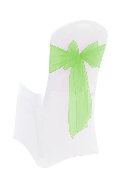 Organza Apple Green Sash