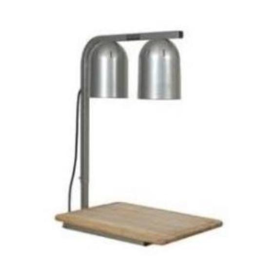 Heat Lamp with cutting board