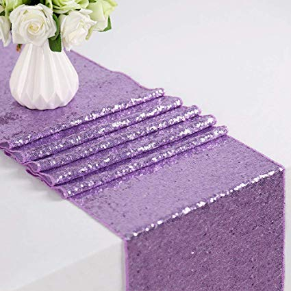 Light Purple  Glitz Runner