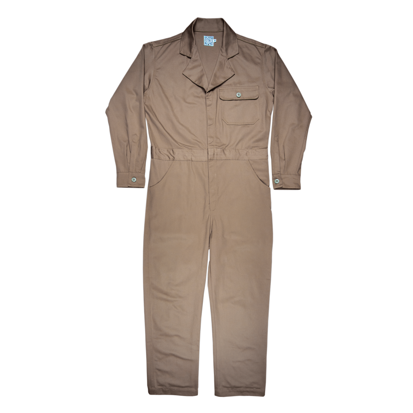 Men's Canvas Coverall- Desert