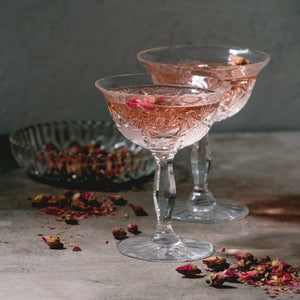 Rose Elderflower Gimlet