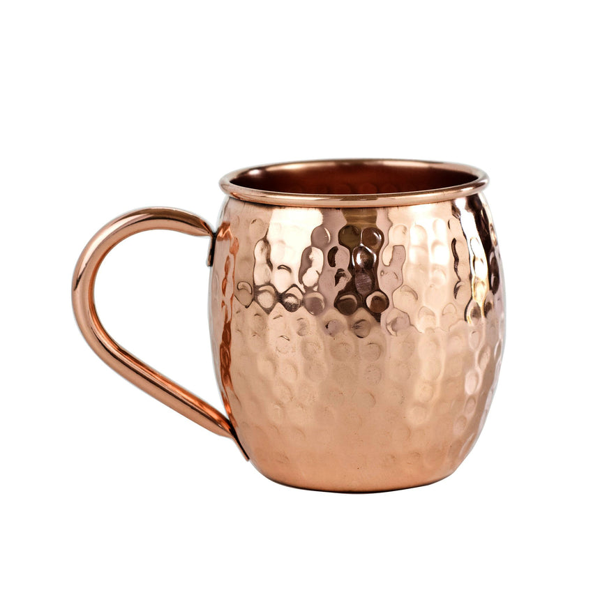 Hammered Moscow Mule Copper Cup