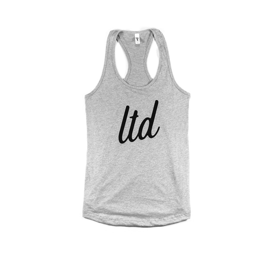 "Ladies ""LTD"" Racerback (Grey)"