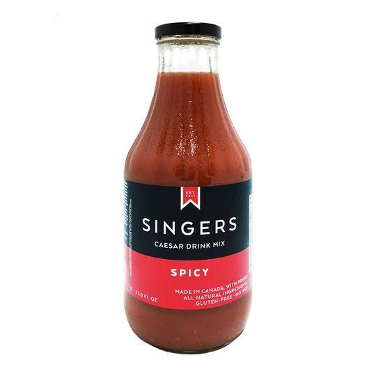 Singers Spicy Caesar Mix