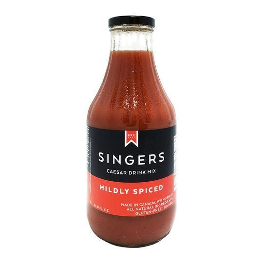 Singers Mildly Spiced Caesar Mix
