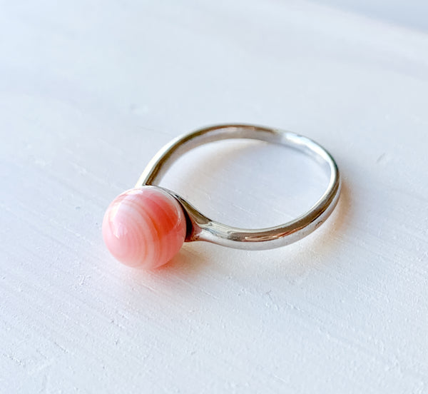 Sunset Sea Shell Ring
