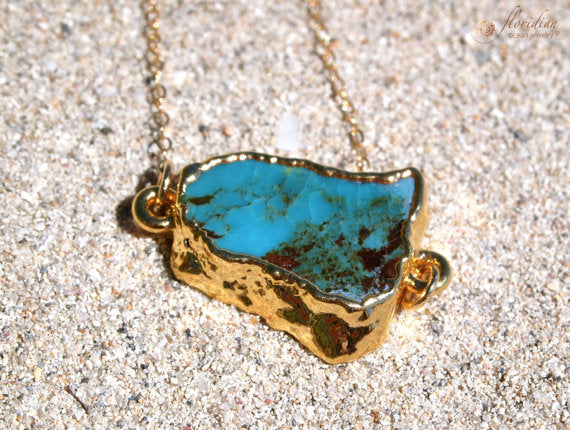 Turquoise Ocean Bond Necklace