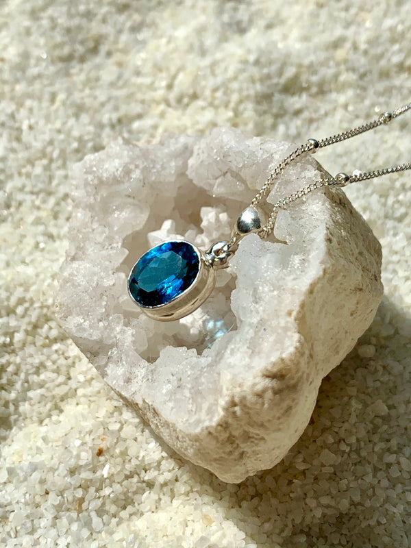 Deep Blue Ocean Necklace