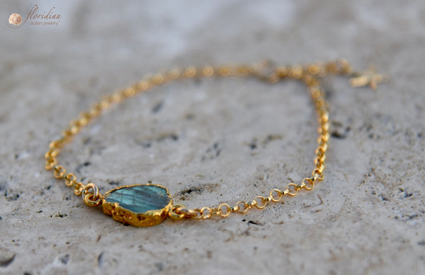Magical Mermaid Scale Bracelet 14k