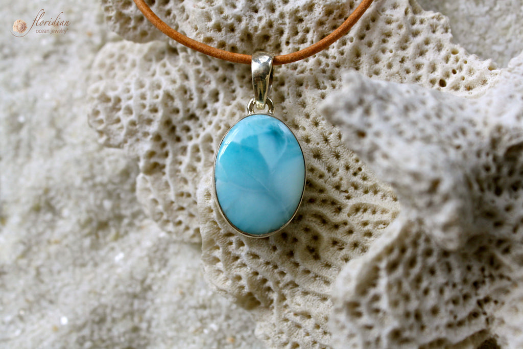 Larimar Ocean Goddess Necklace