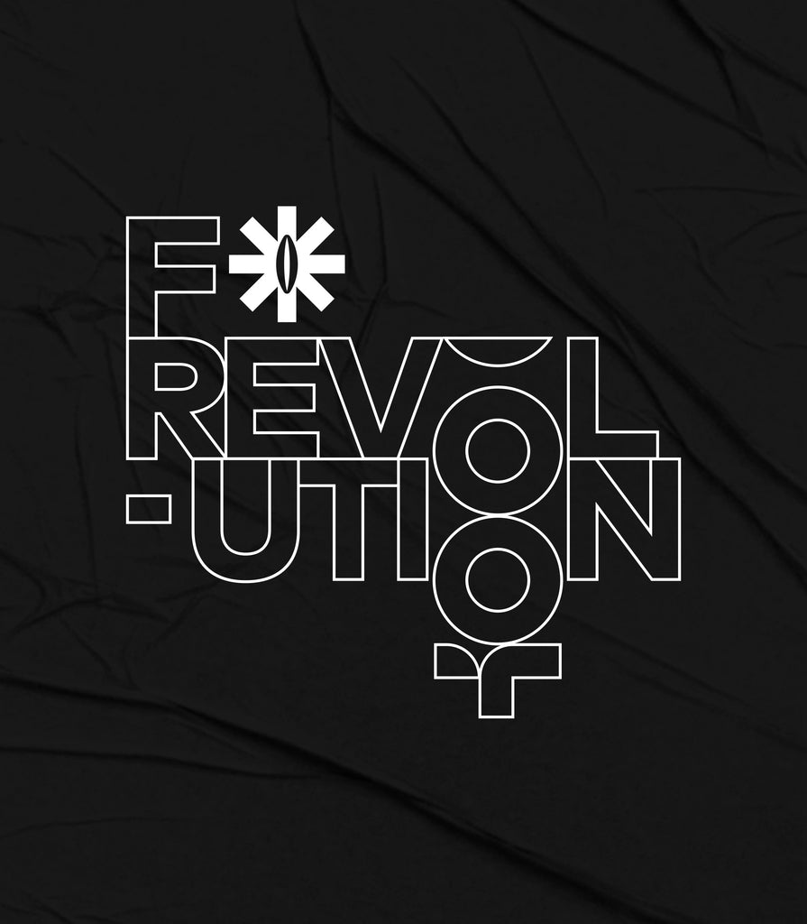 F*Revolution   Unisex Full Zip Hoodie - F*Revolution Logo