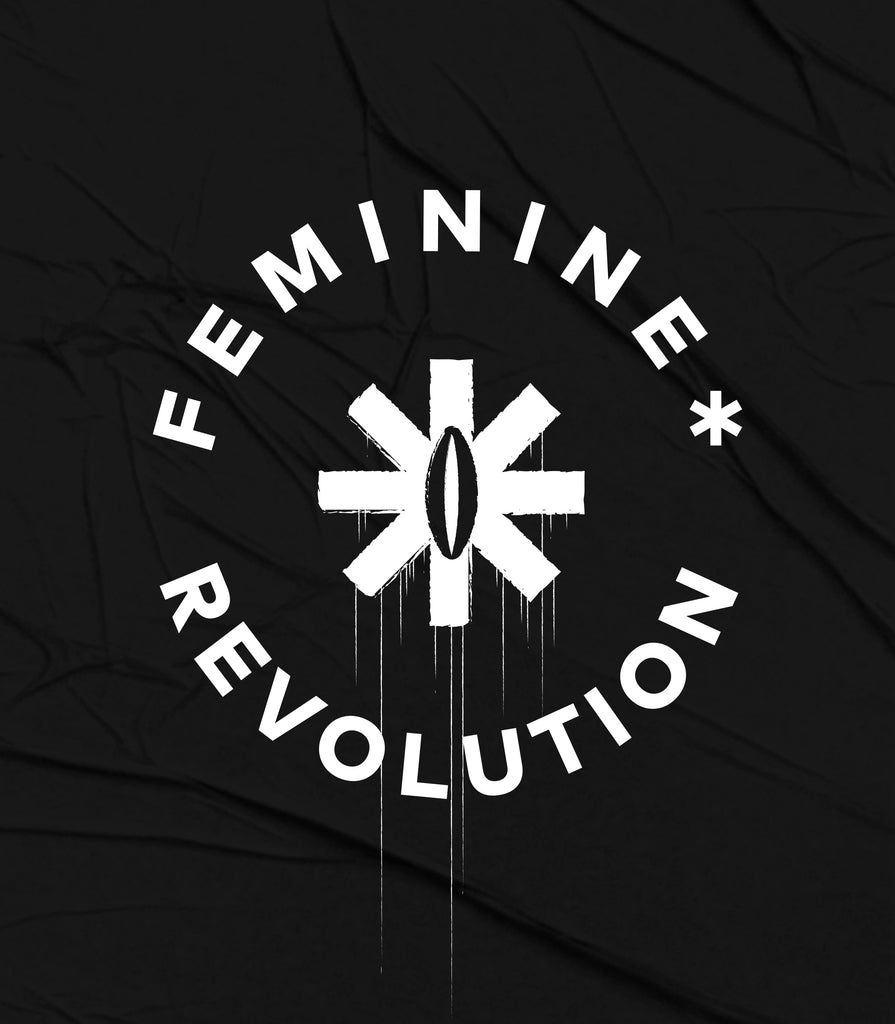 F*Revolution   Unisex Tee - Pink The Fem Rev Logo