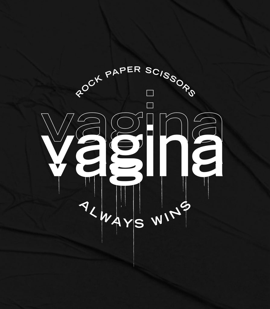 F*Revolution   Crop Top - Vagina Vagina Logo