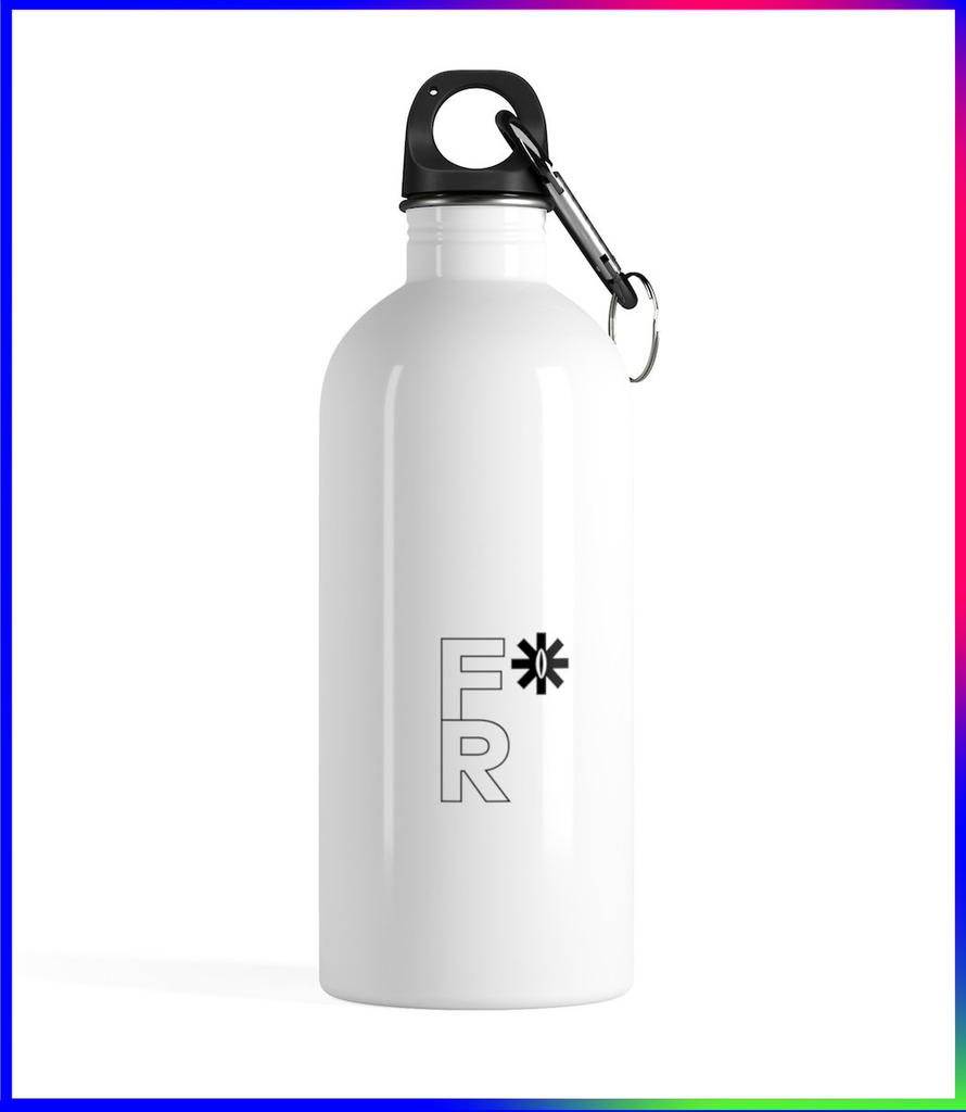 F*Revolution   Stainless Steel Water Bottle - F*R Logo