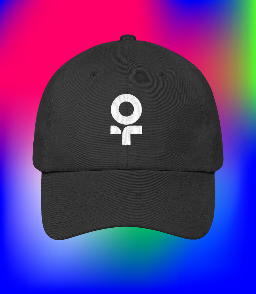 F*Revolution   Dad Cap - Female Mark Logo