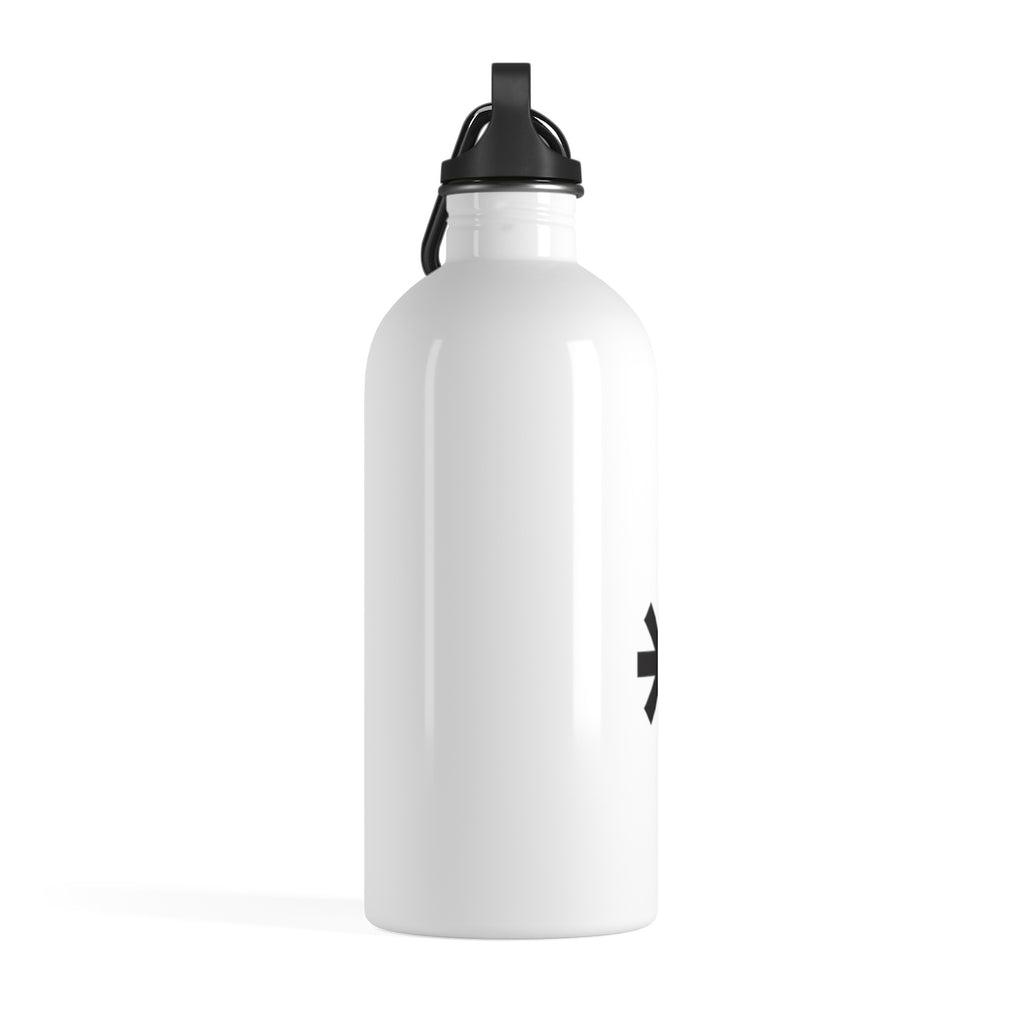 F*Revolution   Stainless Steel Water Bottle - P Star Logo