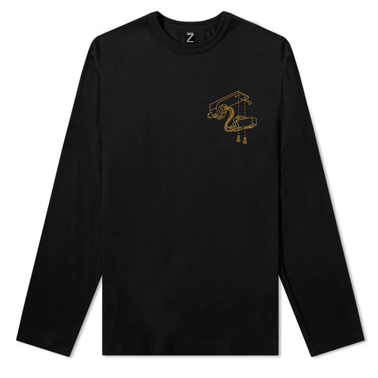 Tonearm Mens Long Sleeve Tee