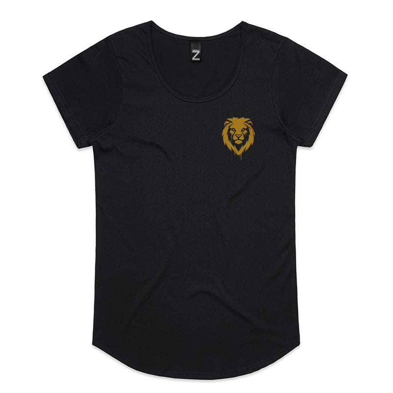 Lion Junglist Womens Tee