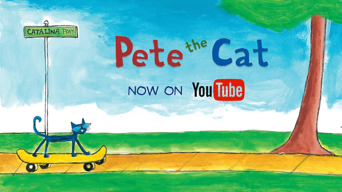 Pete the Cat's NEW YouTube Channel