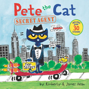 Cover of Pete the Cat: Secret Agent Storybook
