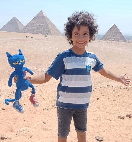 Pete at the Pyramids