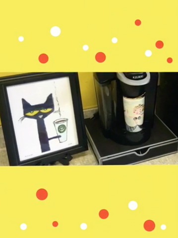 Pete the Cat Coffee Station!