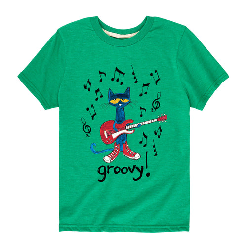 Groovy Pete with Guitar Toddler Shirt