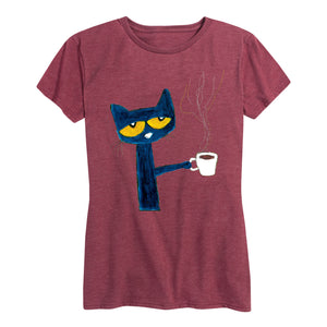 Coffee Cup Ladies Fit Shirt