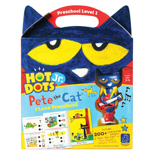 Hot Dots ® Jr. Pete the Cat: I Love Preschool