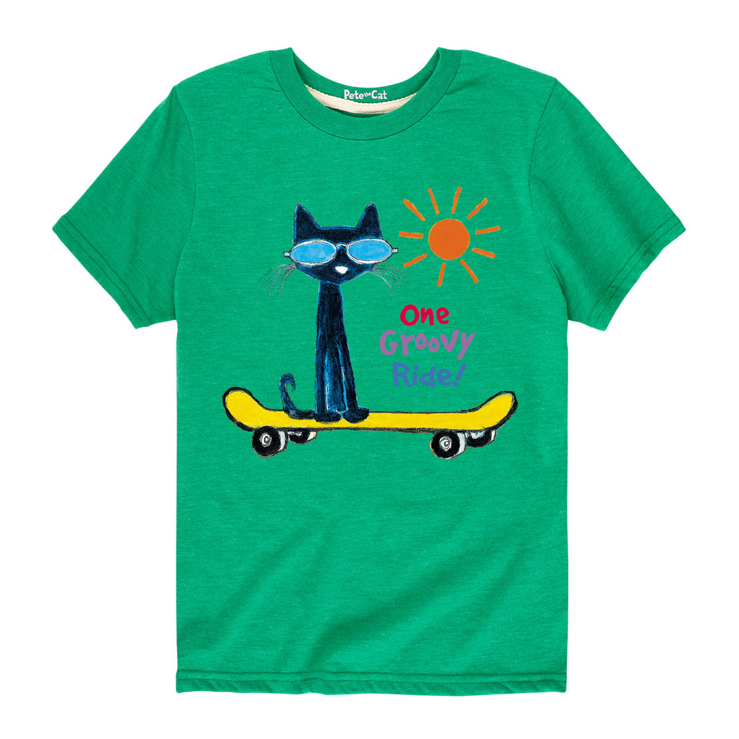 One Groovy Ride Pete Toddler shirt