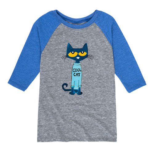 NEW! Cool Cat 3/4 Sleeve Youth Shirt