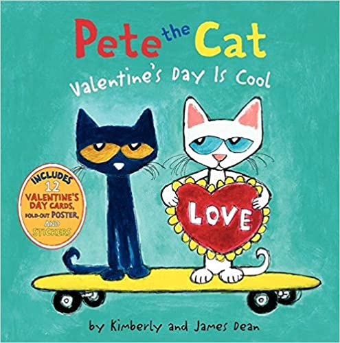 Available SOON! Pete the Cat Valentine's Day is Cool