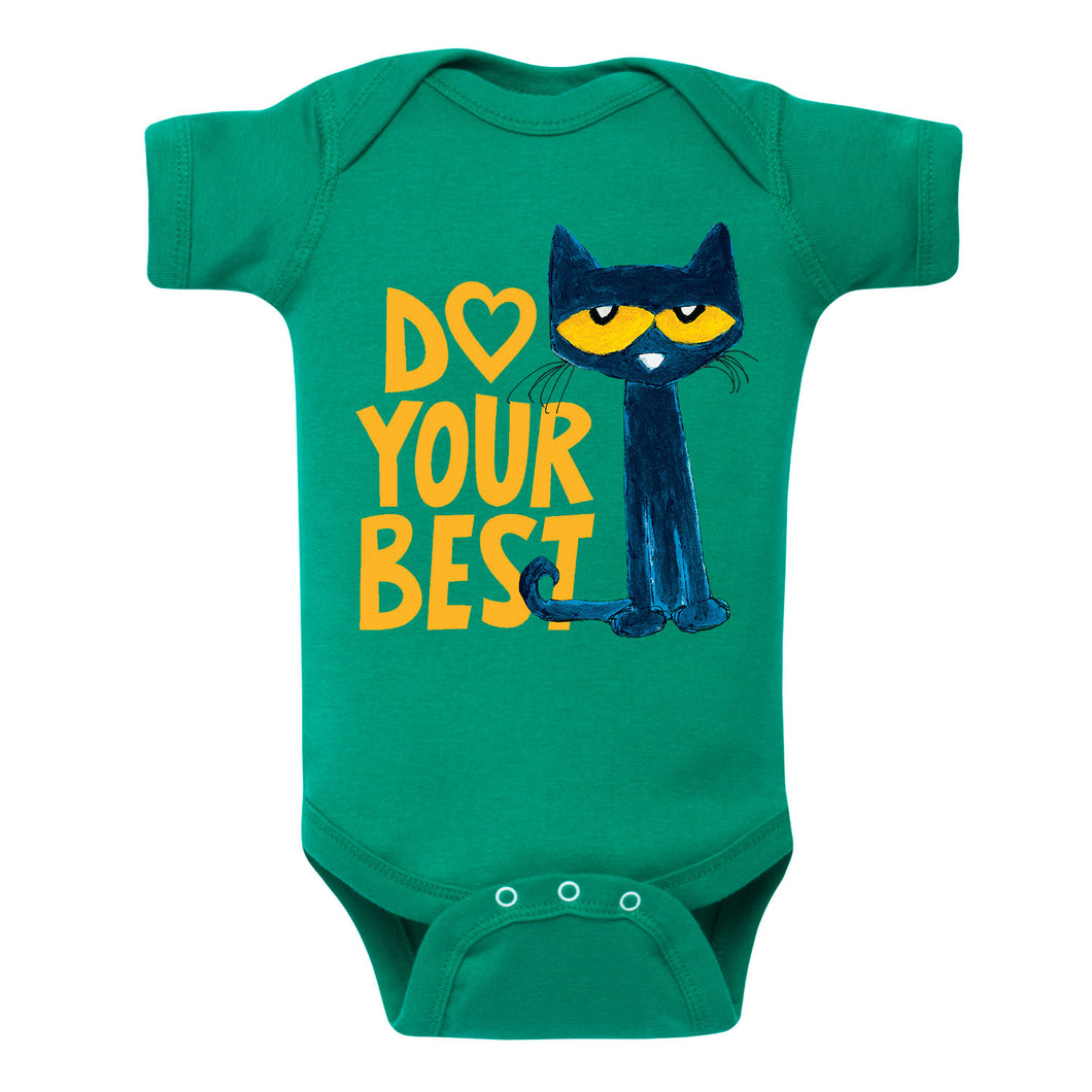 Green Do Your Best Infant Onesie