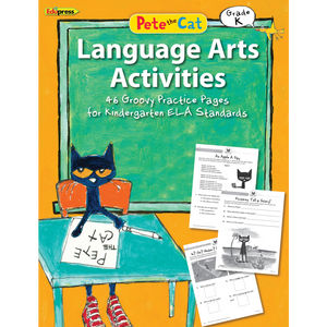 Pete the Cat Language Arts Workbook Grade K