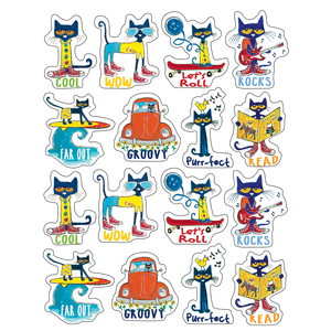 Pete the Cat Sticker Set