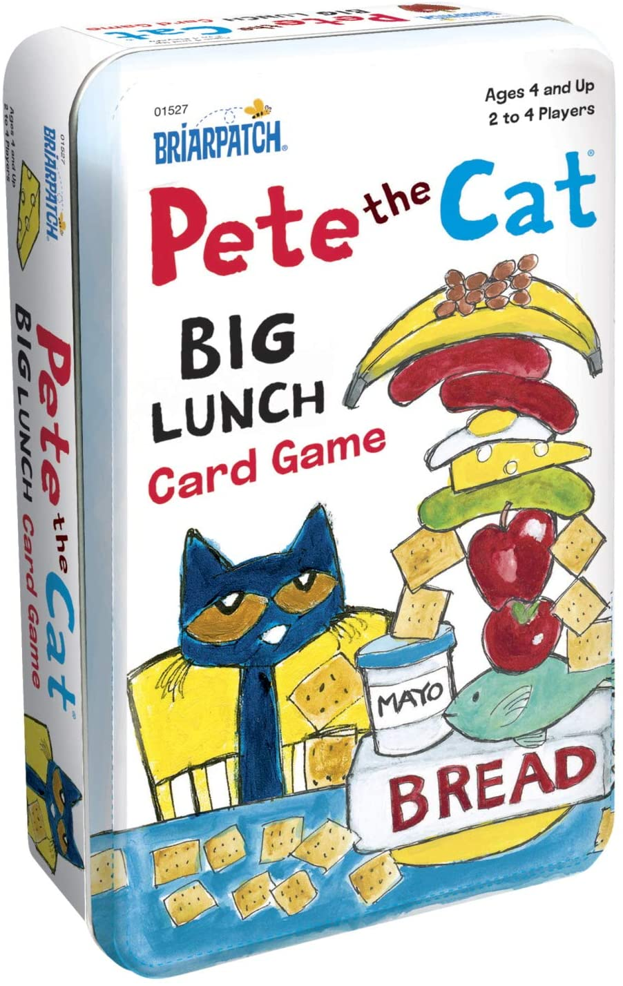 Pete the Cat Lunch Card Game Tin
