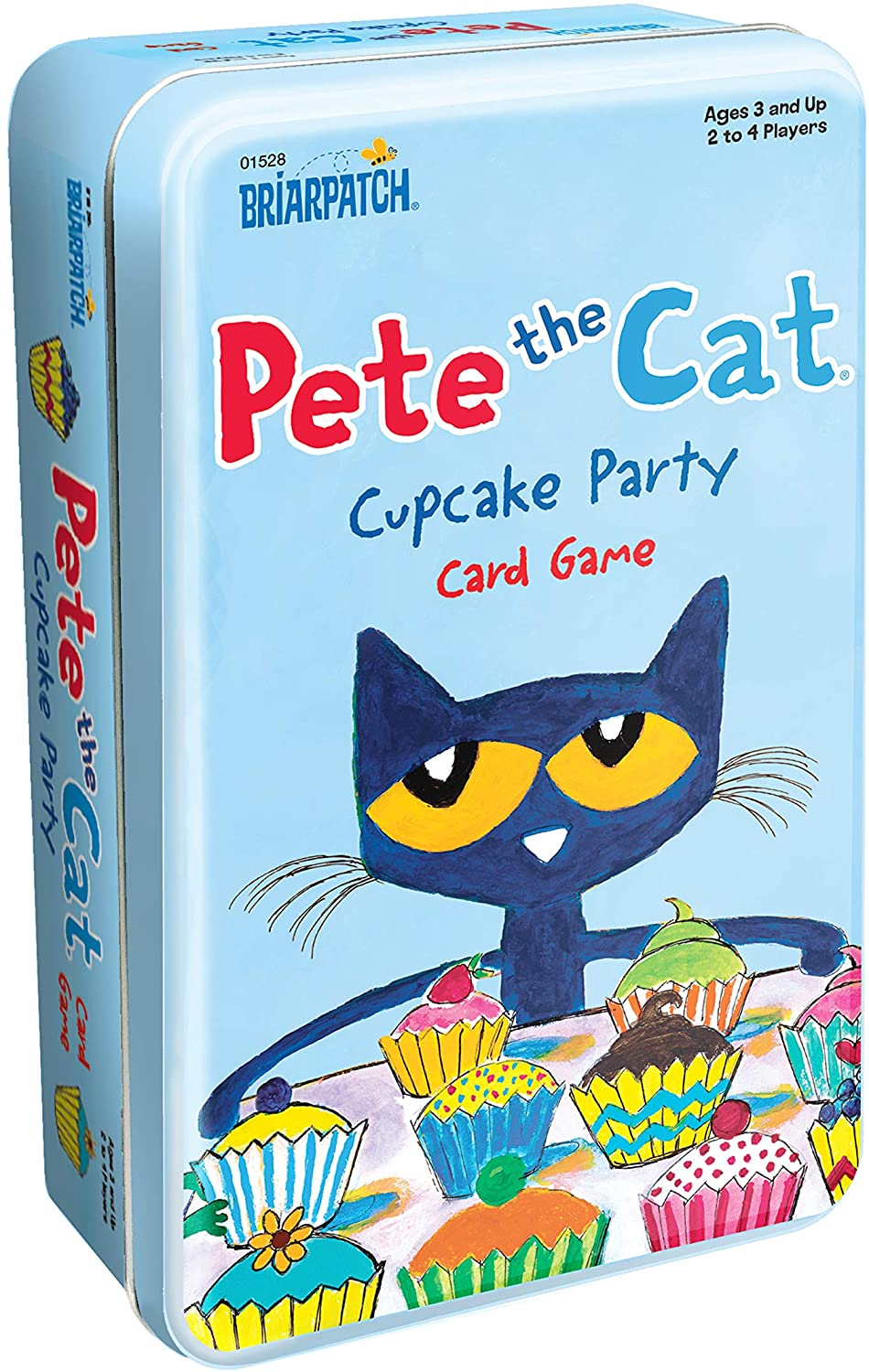 Pete the Cat Cupcake Party Card Game Tin