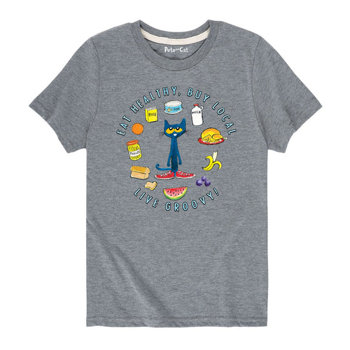 Eat Healthy Pete Toddler & Youth T-Shirt