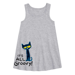 """It's All Groovy"" Youth Dress"