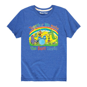 NEW! Together We Make the Best Music Toddler Shirt